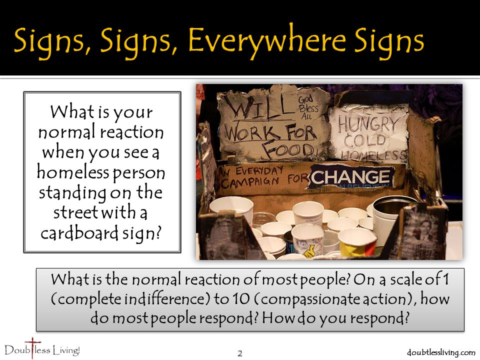 Signs, Signs, Everywhere Signs