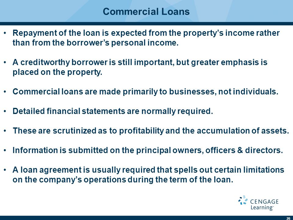 Commercial Loan Agreement. Commercial Construction 25+ Loan
