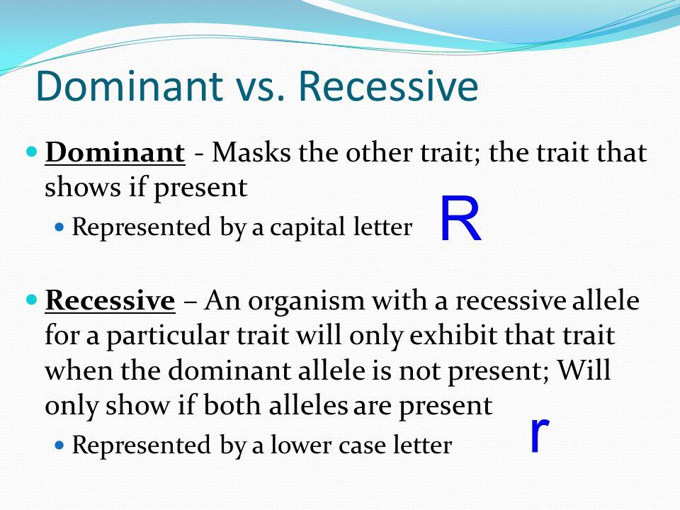 Dominant Recessive Biology Regents Period...