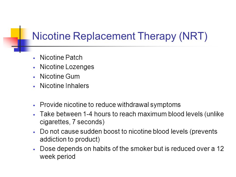 how to get over nicotine withdrawal