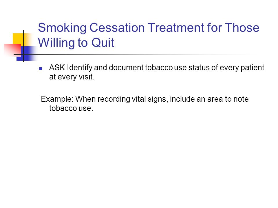 Treatment for smoking cessation marriage the