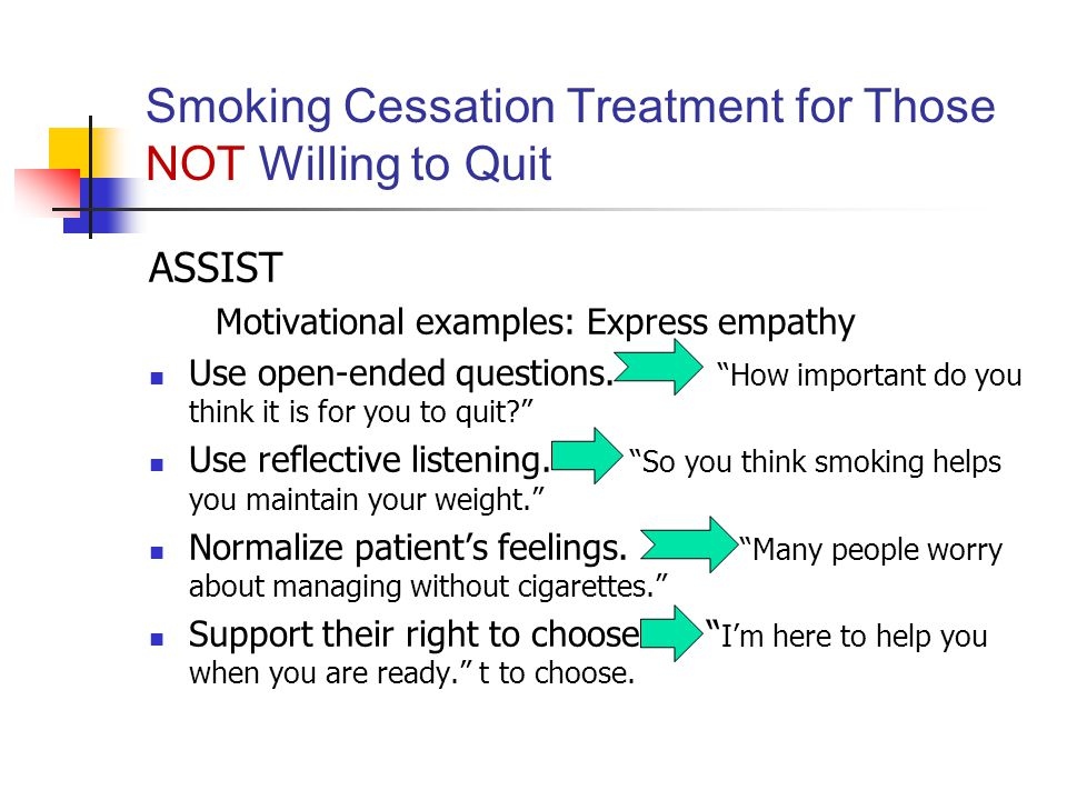 Luck for Treatment for smoking cessation absolutely agree