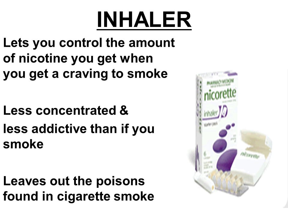 how to use nicotine inhaler youtube