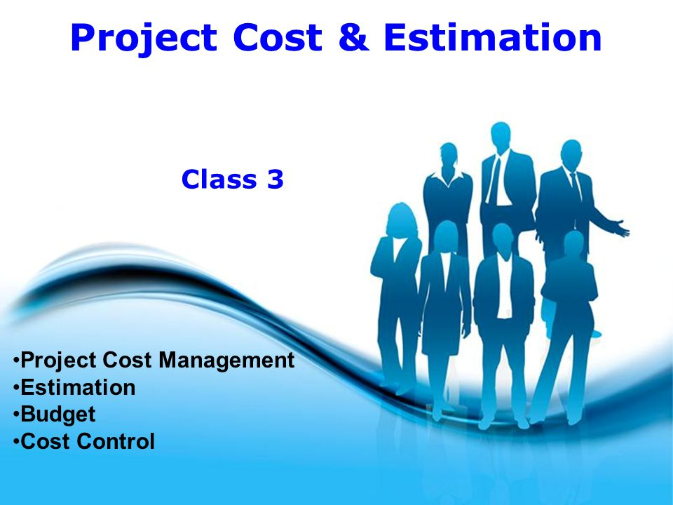 Project Cost Management Estimation Budget Cost Control - ppt video ...
