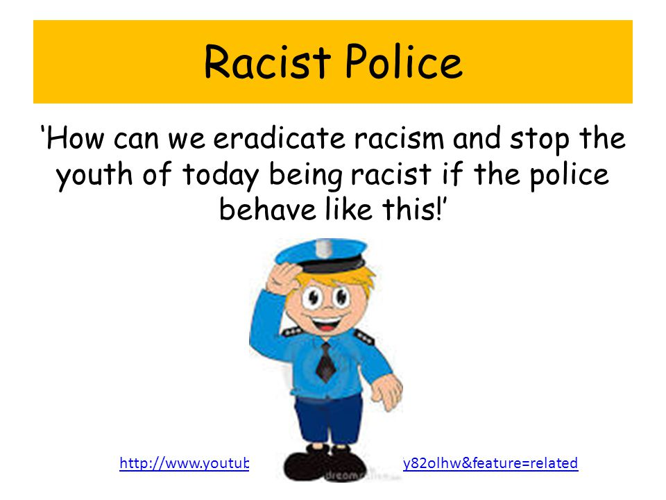 "can racism be stopped essay Find out more about forms of racism and ""races circles"" in high school by reading this essay sample  all these forms of racism can be nowadays ."