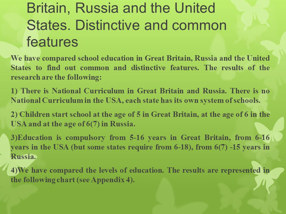 education in russia and in the Citizens of russia have the right for education which is guaranteed by the constitution the public educational system in our country incorporates pre-school, general.