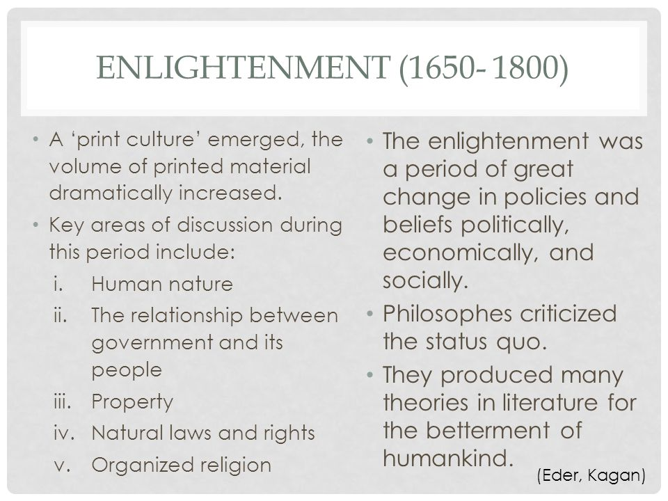what was the relationship between enlightenment and organized religion