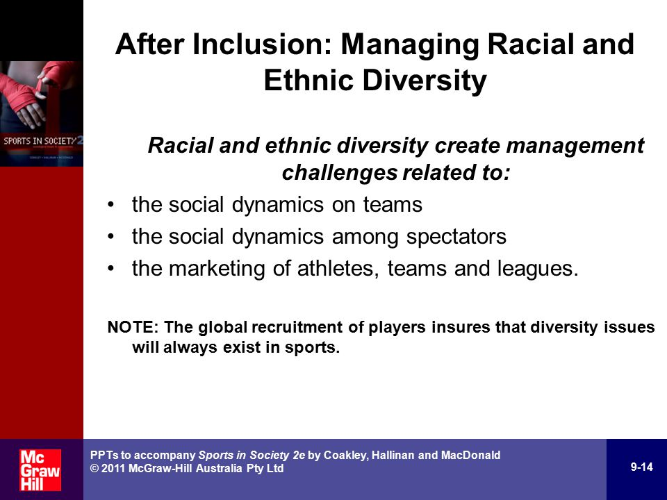 Racial & Ethnic Minority Issues