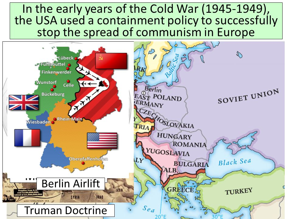 coldwar policy of containment 1945 1975 Overview/goals this unit is designed to help students with a large cold war culminating classroom based assessment about the us foreign policy of containment from 1945-1975.