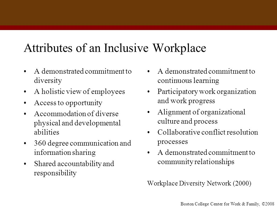 physical diversity in the workplace Workplace diversity refers to the variety of differences between people age, physical abilities, family status, religious beliefs, perspective diversity policy.