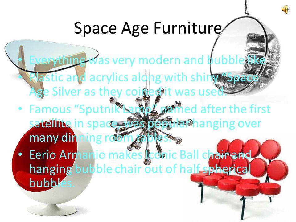 25 space age furniture