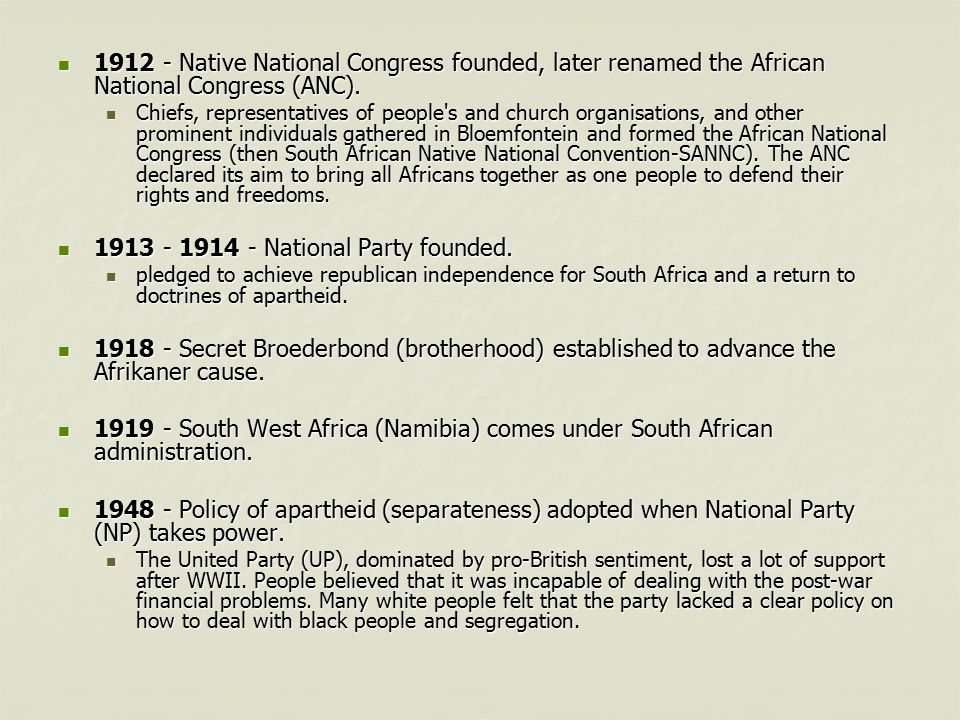 South africa timeline treaty of vereeniging ends the second anglo south africa 2008 3 1913 publicscrutiny Images