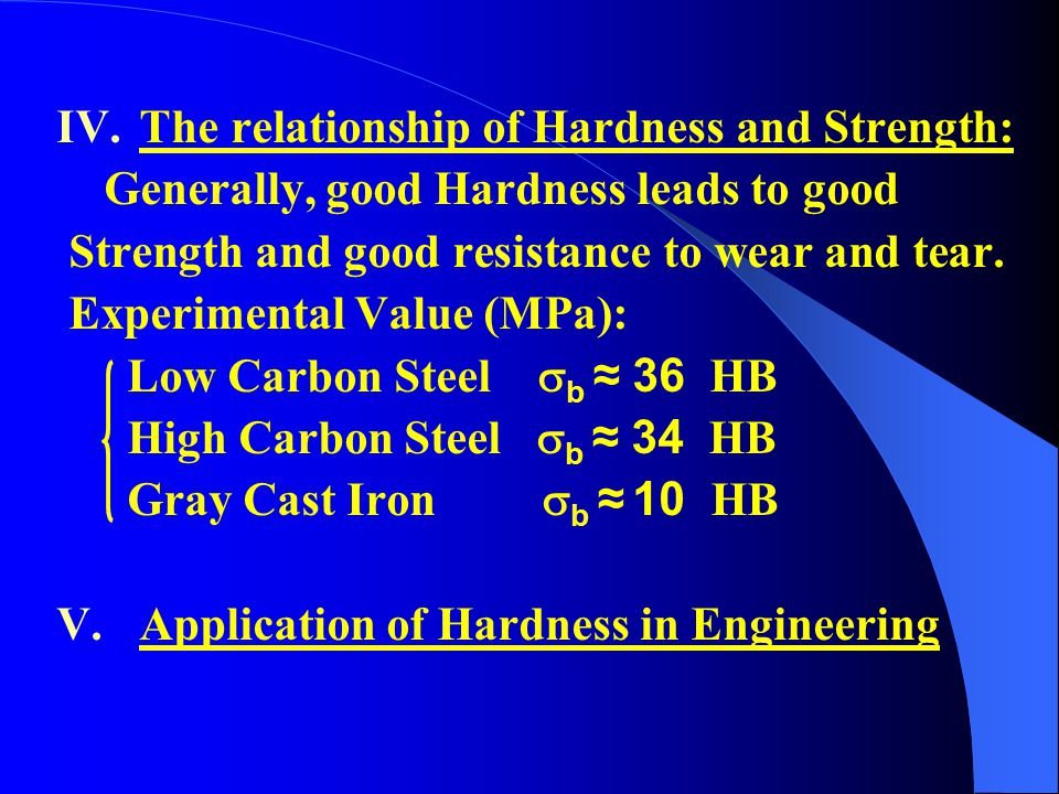 relationship between hardness and abrasion resistance