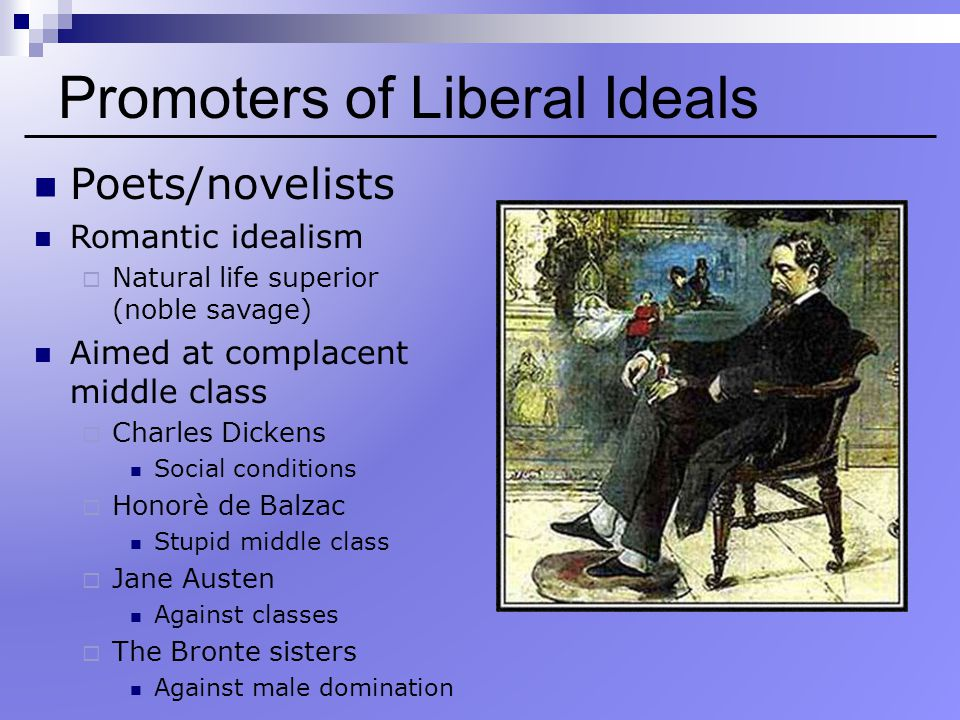 Promoters of Liberal Ideals