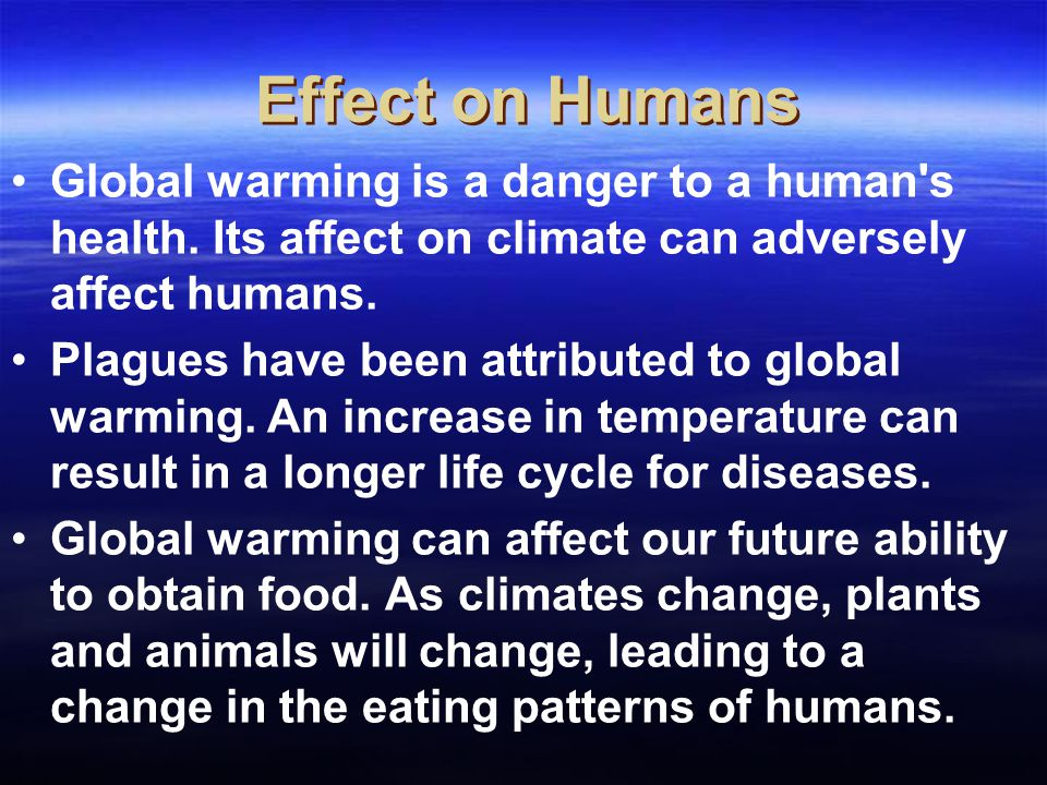 "the truth about global warming and its dangerous effects today Man-made global warming is a the interior says the truth he says man made global warming you then say that man ""may"" have an effect on global warming."