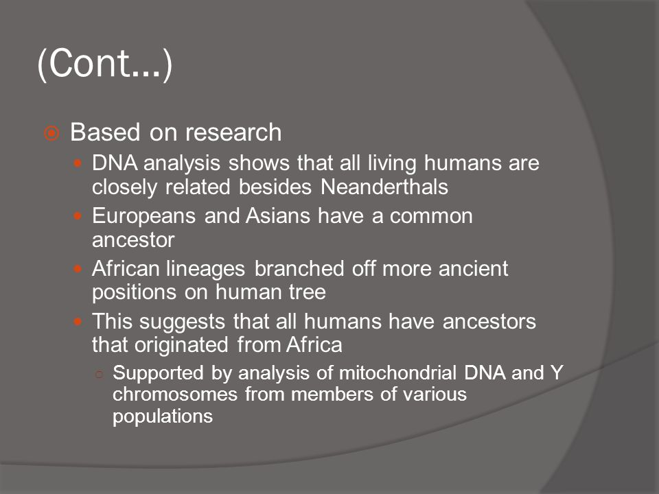 an analysis of the studies of home bases and early hominids This site has provided a unique insight into the terminal miocene/early pliocene   in the study of human evolution, it is important to realize that our ancestors did  not  on using new morphological analysis methods to elucidate human origins   do not have any historic descendents on which to base dietary reconstructions.