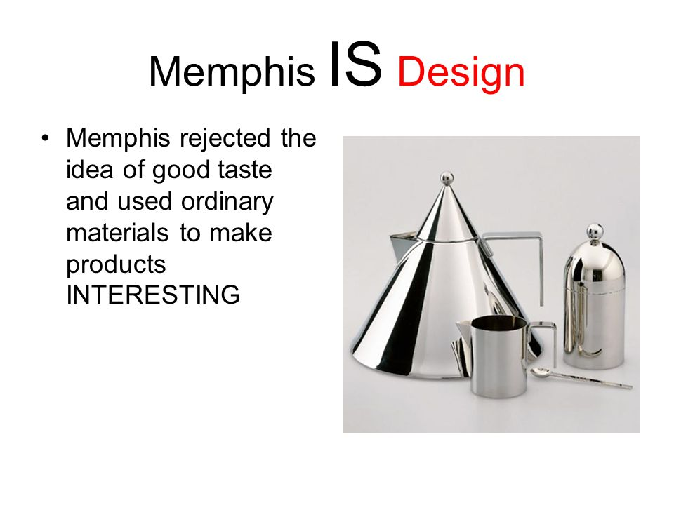 Memphis a design style ppt video online download for Waste material to useful products