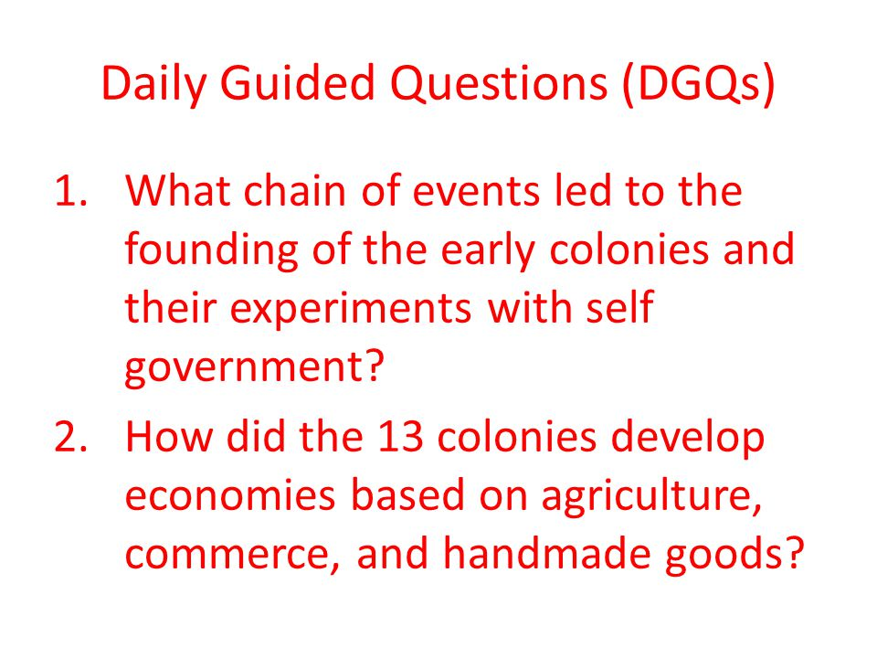 23 the 13 english colonies main idea ppt video online download 3 daily publicscrutiny Images