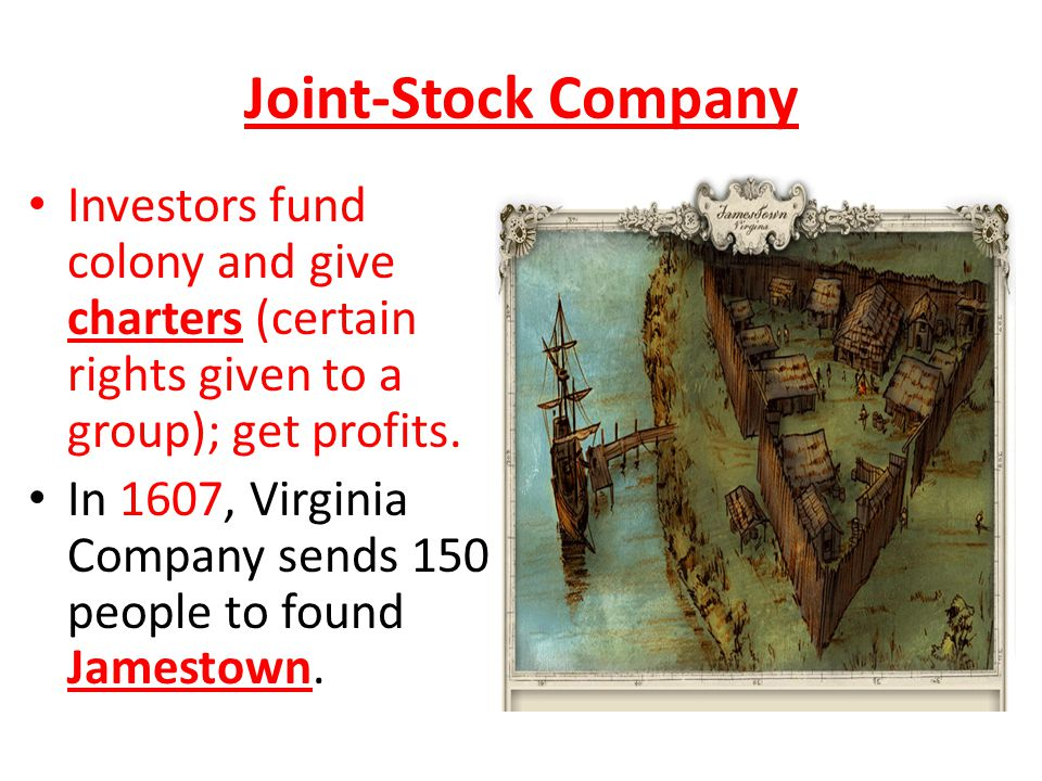What is a 'Joint Stock Company'