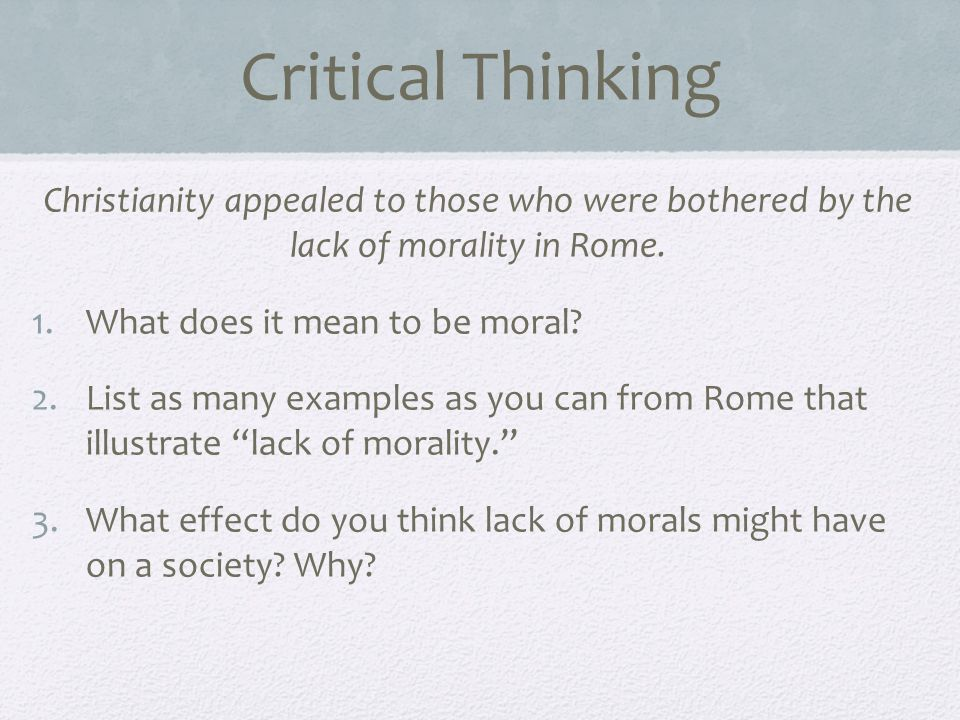 lack of critical thinking in society The consequences of the lack of critical thinking-based education in the african-american community.