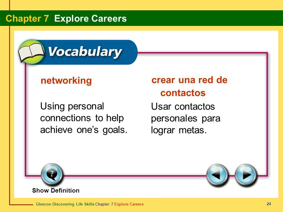 crear una red de contactos