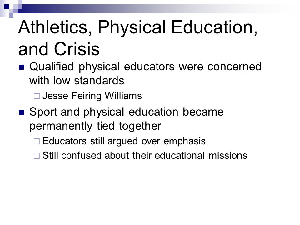 the benefits of mandating physical education Mandate: physical education is not a required course for students  students in  grades prek-12 be taught about the health benefits of physical activity.