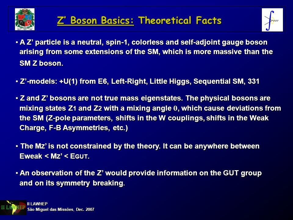 Z' Boson Basics: Theoretical Facts