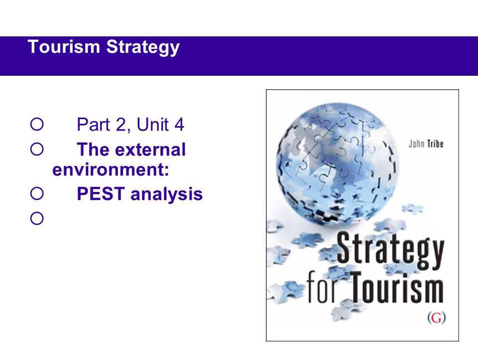 pestle analysis for tourism industry