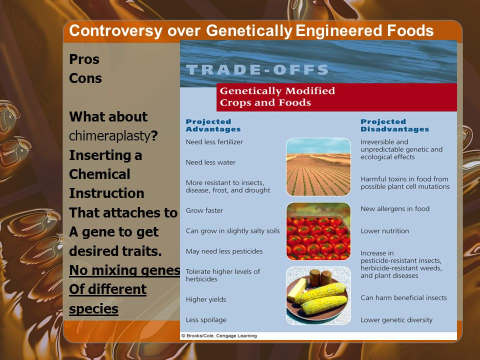 Controversy over Genetically Engineered Foods