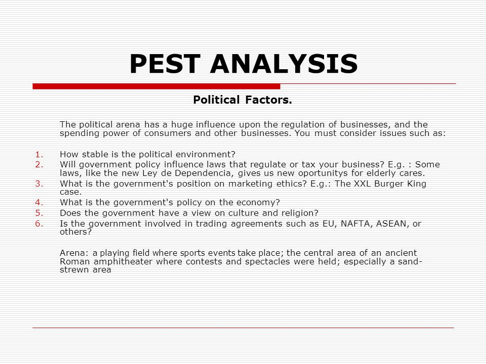 ramly burger pest analysis Subway market research, 114 pages burger king and sunset boulevard, are analyzed in depth 21 pest-analysis.