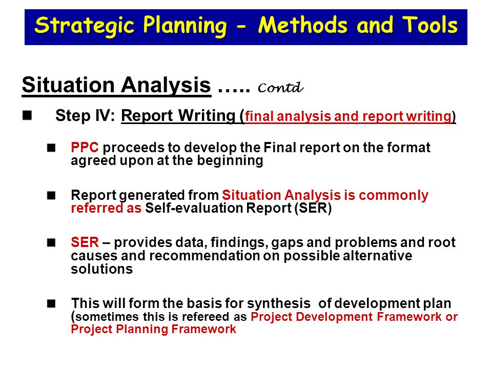 situation analysis format - Timiz.conceptzmusic.co