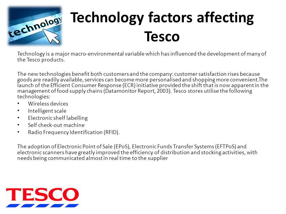 tesco critical success factors