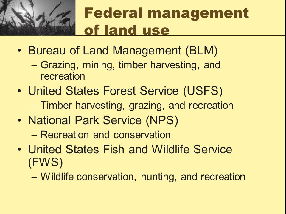 Land Use Terrestrial Biodiversity And Public Lands Ppt