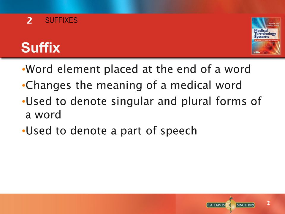 2 Lecture Notes A PowerPoint Presentation Suffixes - ppt video ...