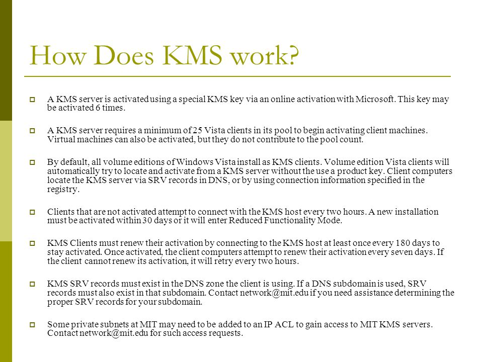 office kms client key