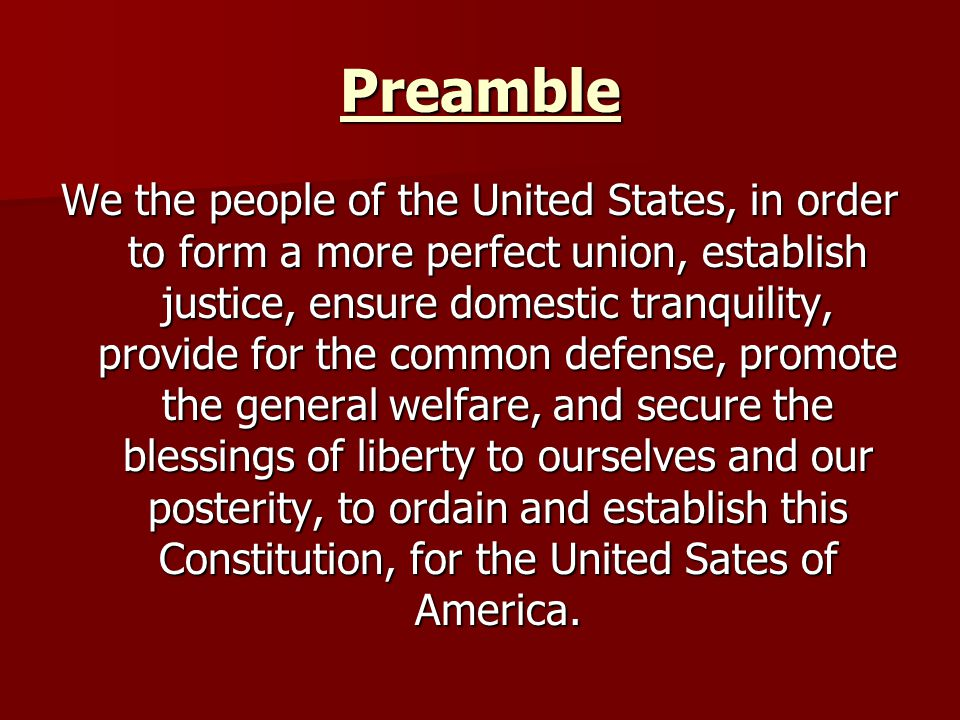 The United States Constitution - ppt download