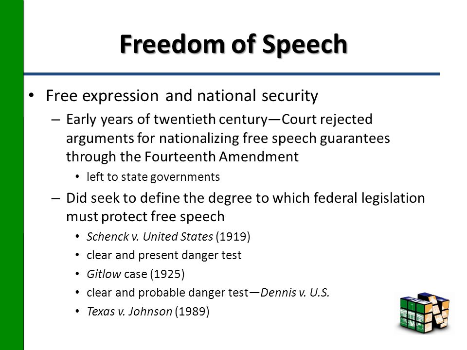 an interpretation of censorship legislation in the united states The first amendment to the united states constitution, relating to the rights to free speech the legislature of the united states shall pass no law on the subject of religion nor touching or abridging the liberty of the press free from government censorship.