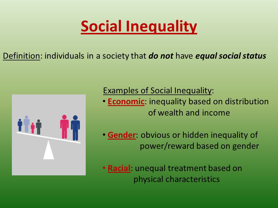 Example essay for social equality
