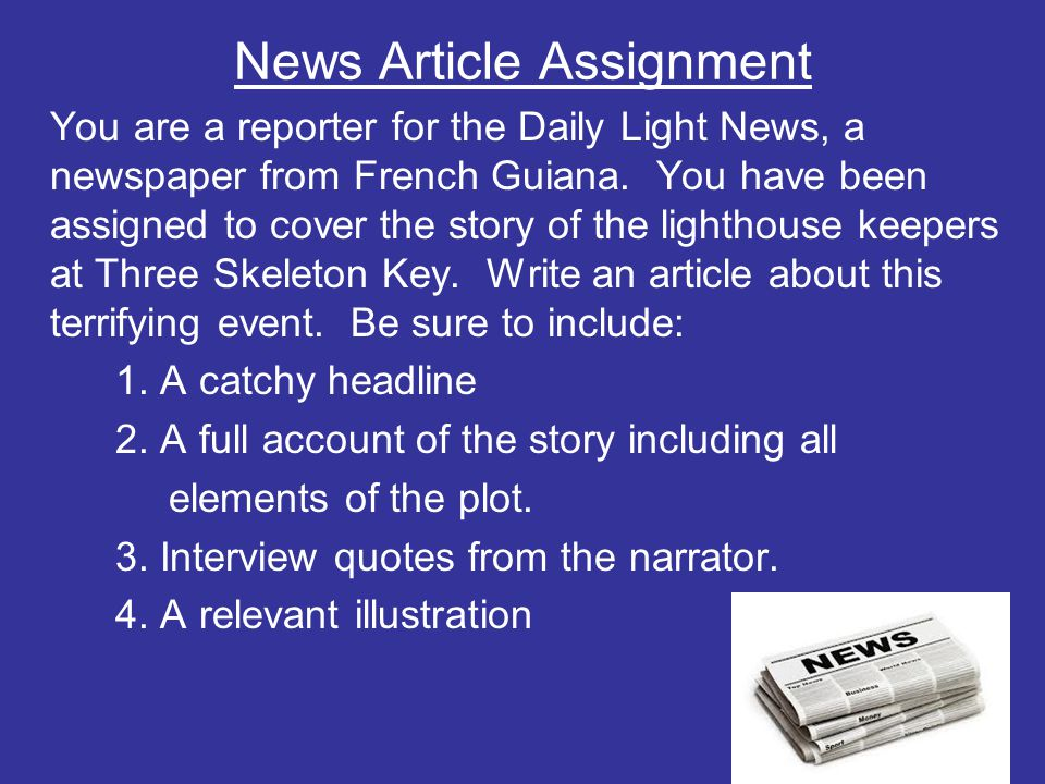 Three skeleton key by george toudouze ppt video online download 17 news article assignment ccuart Choice Image