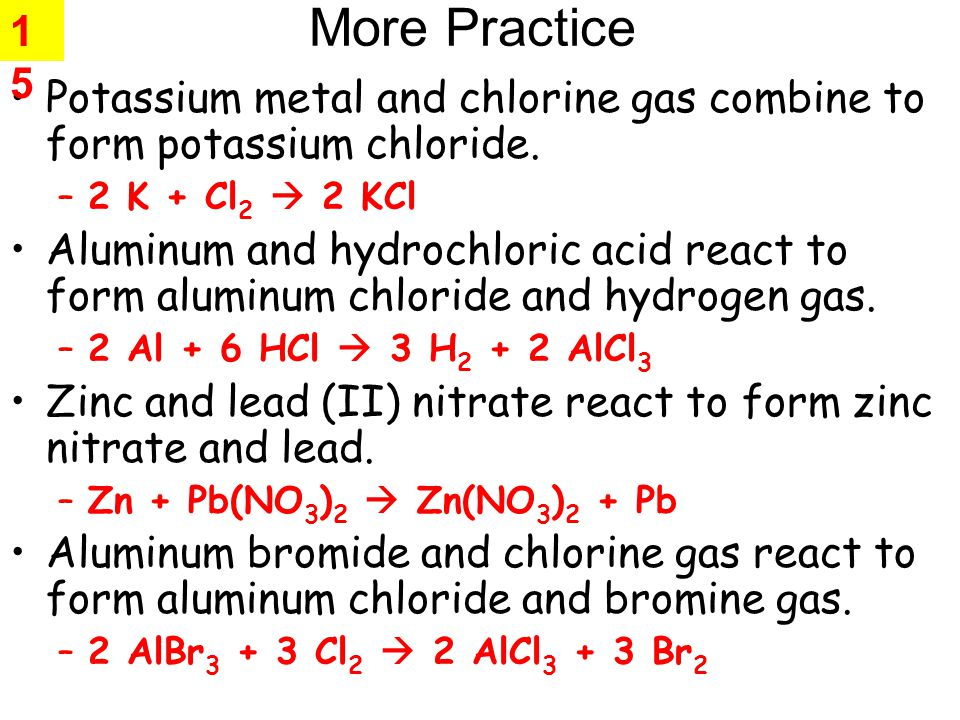 1 Chemical Reactions. - ppt video online download