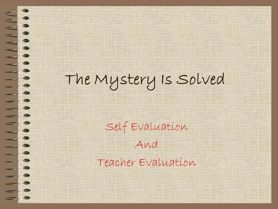 how to write a teacher evaluation