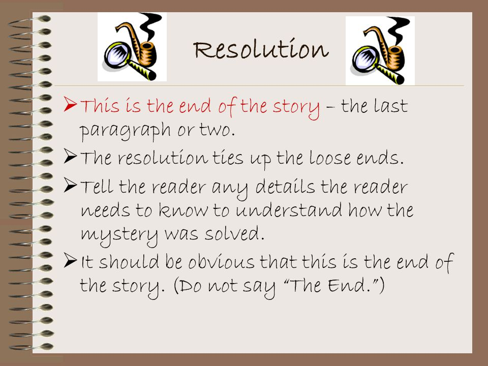 Mystery Story Skeleton - ppt download