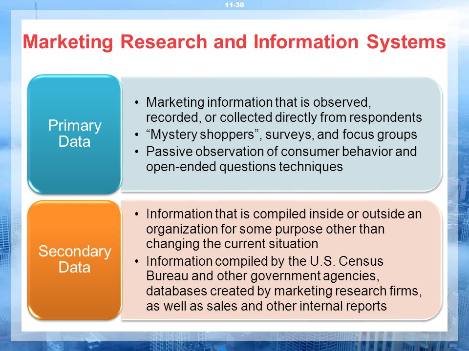 marketing research and information systems The role of marketing information system on decision making marketing research is a proactive search for information to solve a perceived marketing problem.