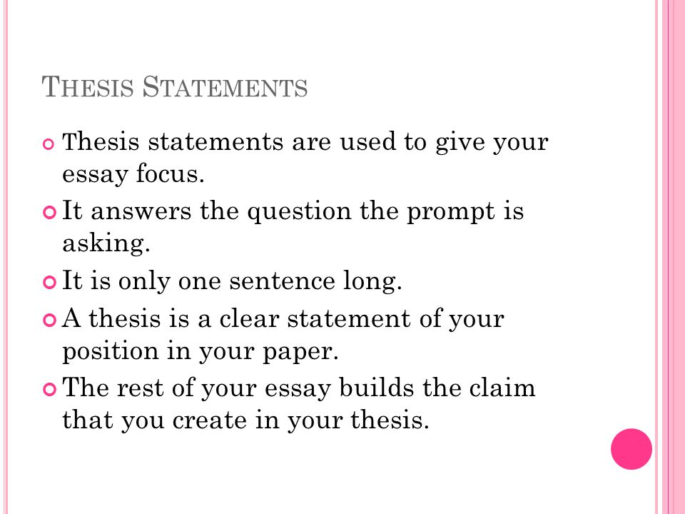 thesis statement prompts