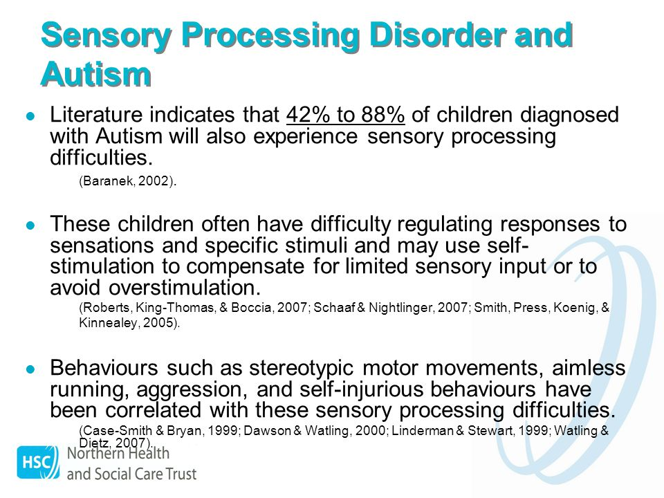 sensory difficulties Sensory processing disorder the new name for sensory integration dysfunction here you will find valuable articles, tips, and resources for identifying and treating spd.