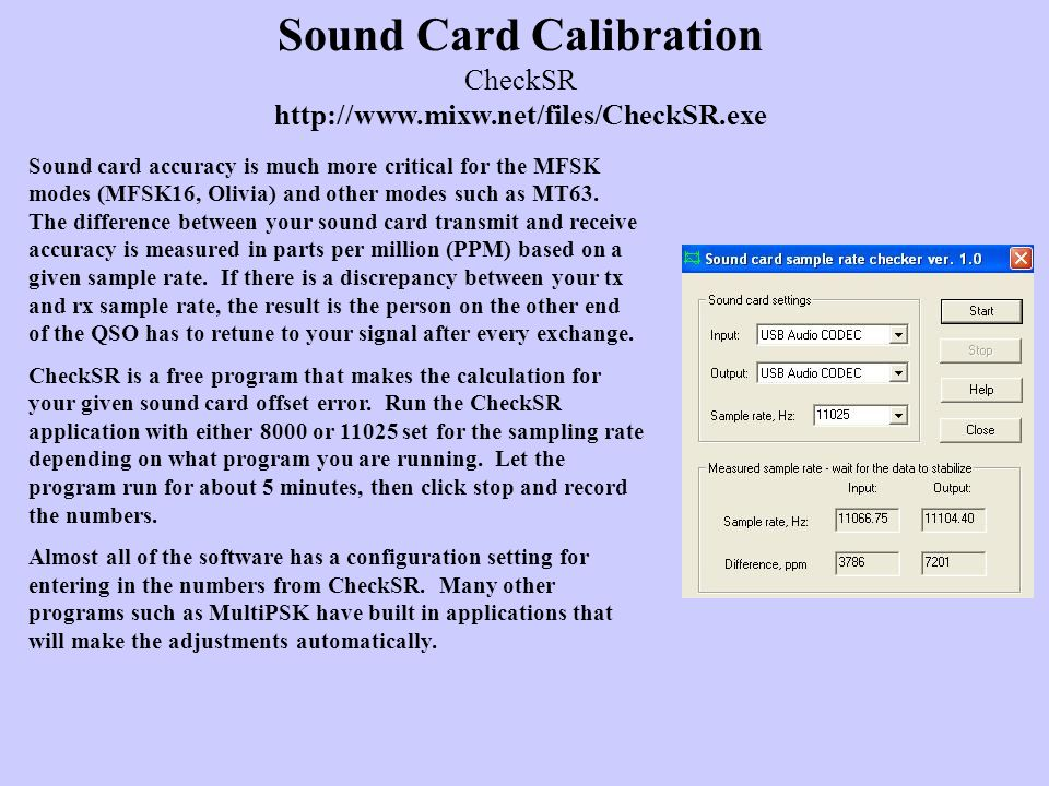 Digital Sound Card Modes and Operation ppt video online download