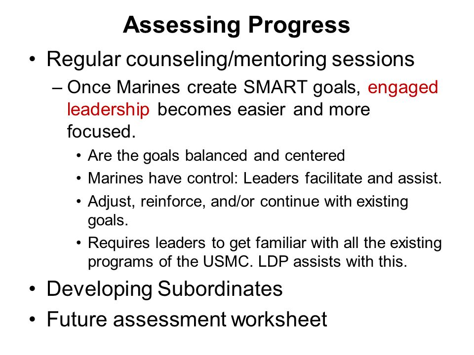 Marine Corps Leadership Development Program MCLDP ppt download – Counseling Worksheet Usmc