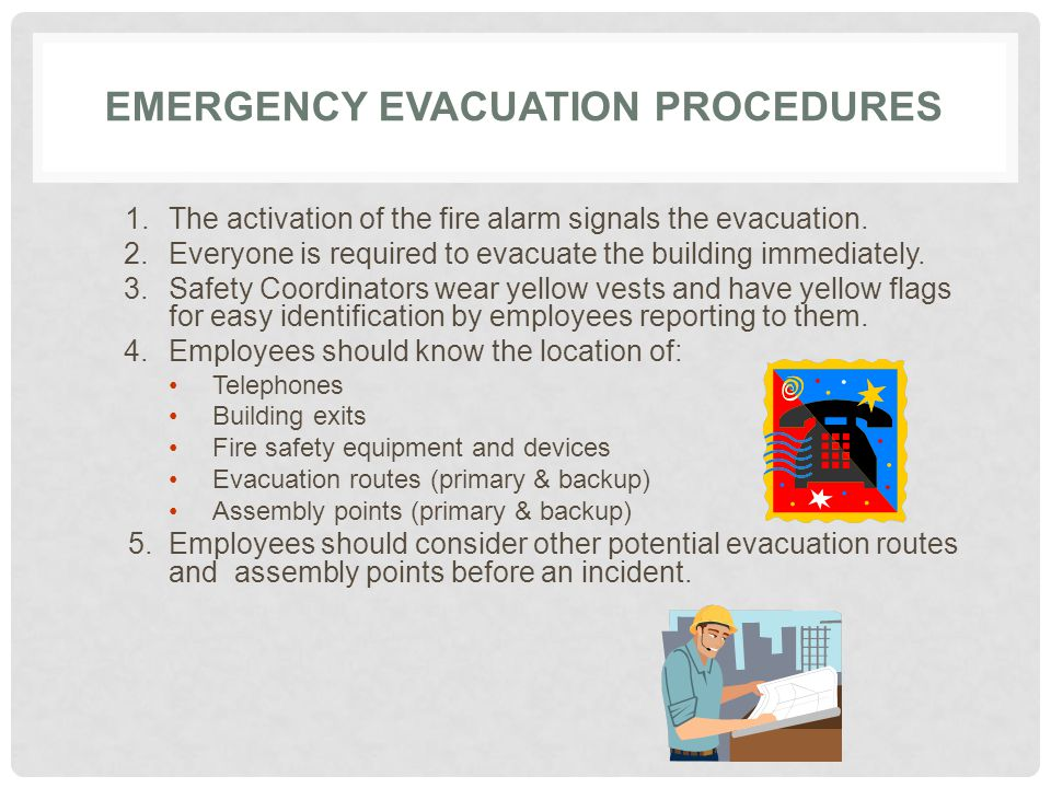 Safety coordinator emergency preparedness training ppt for Procedure to build a house