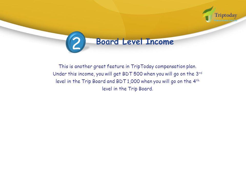 2 Board Level Income.