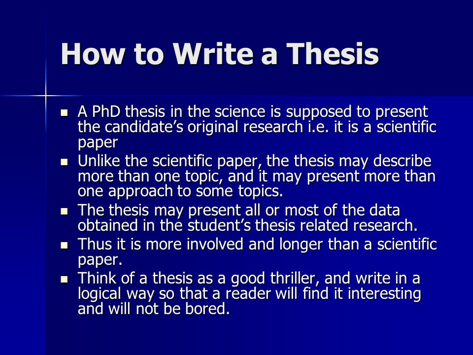 How to write a good abstract for a scientific paper or conference presentation